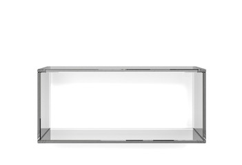 Dark glass shelf