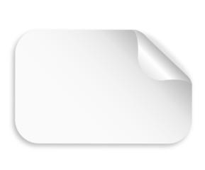 Sticker Blanko