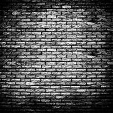 Mur de briques rugueux