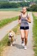 mit hund joggen