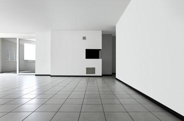 interno di appartamento vuoto moderno