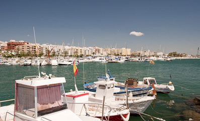 Garrucha Harbor, Almeria, Andalusia, Spain