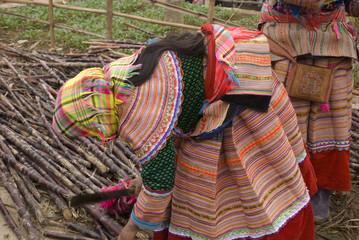 Vietnamese woman at market