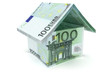 100 Euro Haus