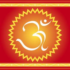 Divine Om symbol