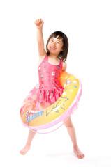 水着の子供