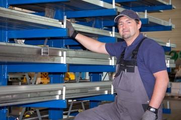 Facharbeiter in der Metallindustrie