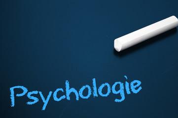 Tafel mit Psychologie