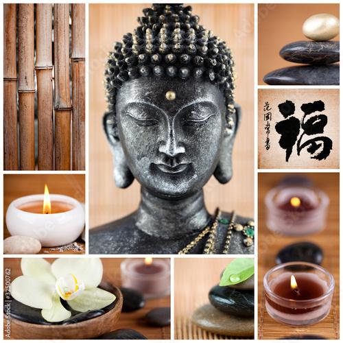 Fototapeten,zen,buddhas,bambus,natur