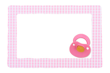 Baby Frame for girl