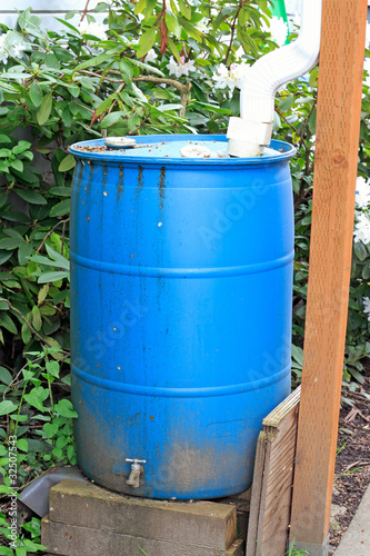 Old Blue Cistern