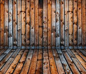vintage old grunge wooden plank interior