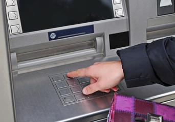 Pin code ATM access
