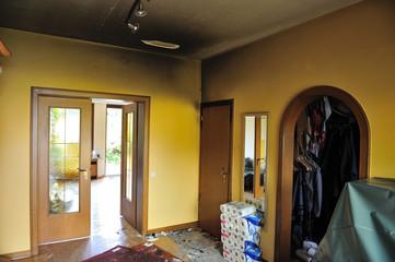 Wohnung nach Brand