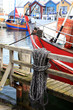 Leinwandbild Motiv Fischerboot