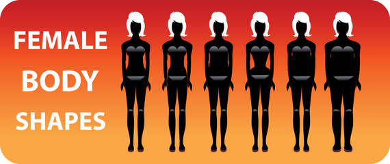 Female Body Different woman