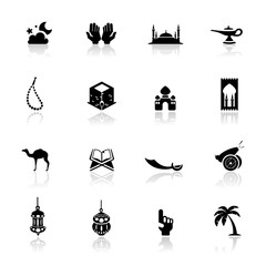 Icons set Islamic