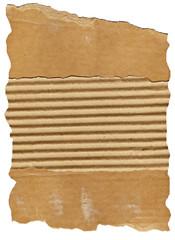 Textures, Corrugated cardboard