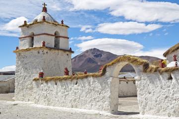 Iglesia de Parinacota, Chile