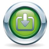 Download - Button grün