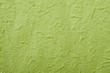 緑色の和紙のアップ