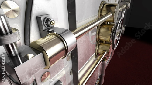 Safe door unlock