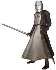 Early Medieval Templar Knight