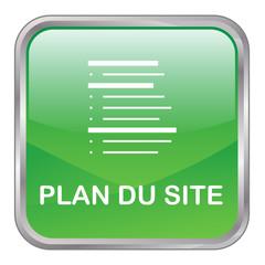 "Bouton Web ""PLAN DU SITE"" (internet catégories recherche vert)"