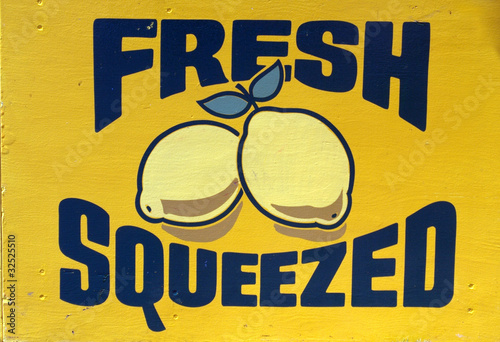 Fresh Squeezed Lemons