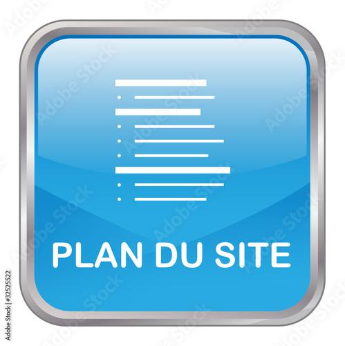 """Bouton Web """"PLAN DU SITE"""" (internet catégories recherche blog)"""