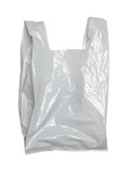 white plastic bag