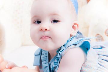 Dulce ojos azules