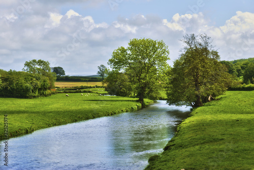 English Countryside River