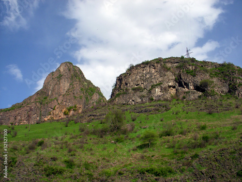 Mountains in Armenia