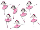 Fototapety Ballet girls