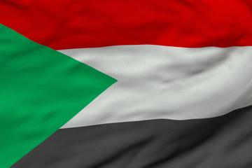 Sudanese Flag