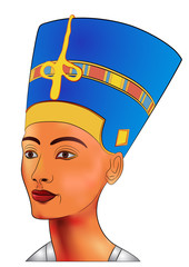 Nefertiti - vector