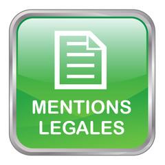 Bouton Web MENTIONS LEGALES (conditions générales légales vente)