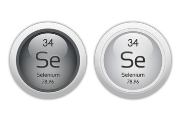 Selenium - two glossy web buttons