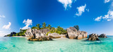 Fototapety Anse Source d'Argent, la Digue, Seychelles