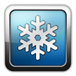 "Glossy Square Icon ""Winter Recreation"""