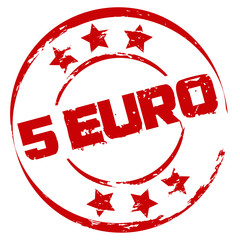Stempel: 5 Euro