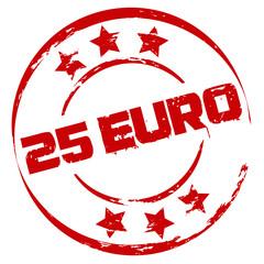 Stempel: 25 Euro