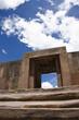 Puerta adintelada en Tiahuanaco