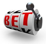 Bet Words on Slot Machine Wheels - Gambling