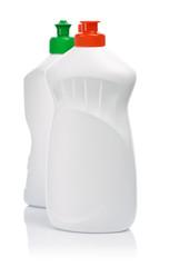 bottles of cleaning gel