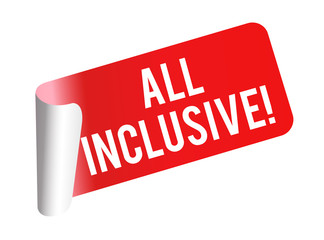 All inclusive - Sticker