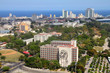 Havana, Cuba - aerial view with Vedado