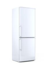 Modern white refrigerator