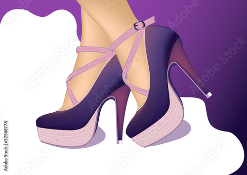 Stylish ladies shoes